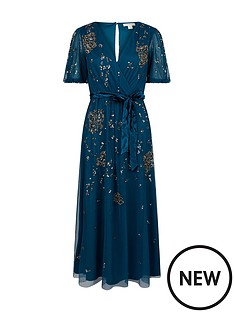 monsoon-roza-embellished-midi-dress