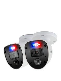 swann-smart-security-1080p-enforcer-led-flashing-light-bullet-style-add-on-analogue-cctv-camera-twin-pack-swpro-1080slpk2-eu