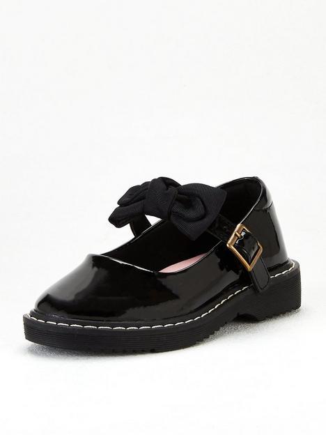 v-by-very-girls-bow-school-shoe-black