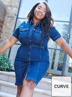 v-by-very-curve-denim-shirt-dress-blue