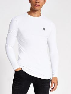river-island-r96-logo-long-sleeve-t-shirt