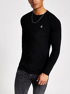 river-island-r96-logo-long-sleeve-t-shirt-black