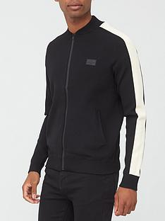 river-island-ls-premium-taped-bomber-neck-blacknbsp