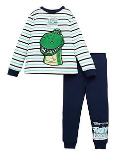 toy-story-boys-disney-toy-story-rex-striped-long-sleeve-pjs-multi