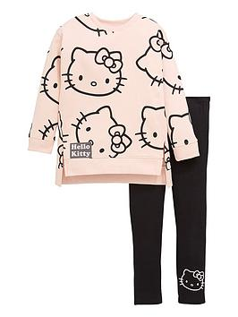 hello-kitty-girls-hello-kitty-two-piece-jumper-dress-and-legging-set-multi
