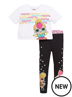 lol-surprise-girls-lol-surprise-two-piece-activewear-top-and-legging-set-white