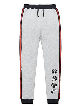 marvel-boys-co-ordnbspcolour-block-jogger-grey