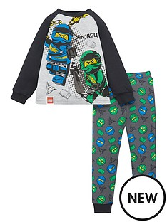 lego-boysnbspninjago-raglan-long-sleeve-pjs-grey