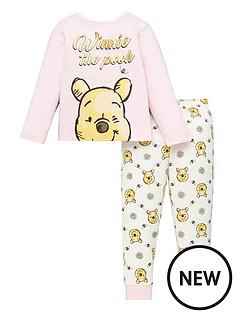 winnie-the-pooh-girlsnbsplong-sleeve-pjs-pink