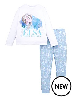 disney-frozen-girls-disney-frozen-elsa-glitter-print-long-sleeve-pjs-white