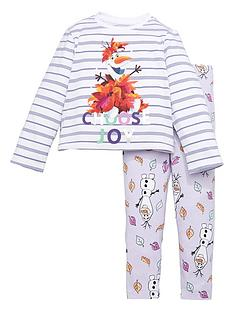 disney-frozen-girls-disney-frozen-2-piece-olaf-stripe-t-shirt-and-legging-set-multi