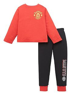 manchester-united-boys-long-sleeve-pjs-red