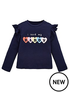 mini-v-by-very-girls-i-love-daddy-t-shirt-navy