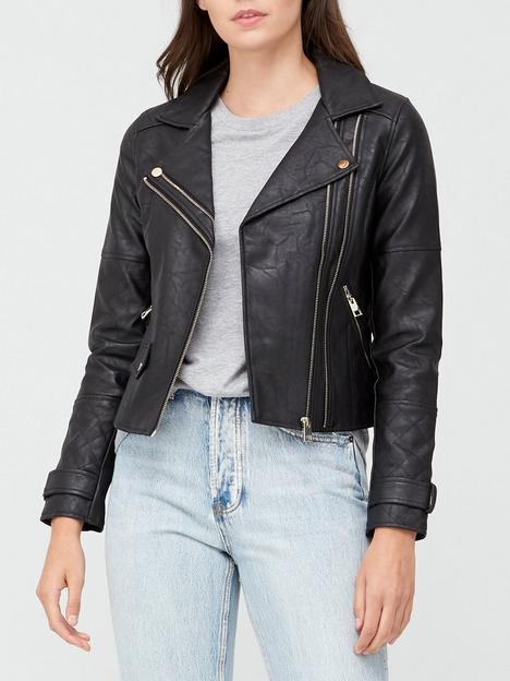 river-island-punbspbiker-jacket-black