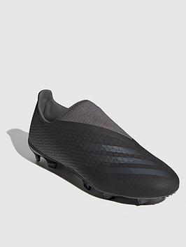 adidas-mens-x-laceless-ghosted3-firm-ground-football-boots-black