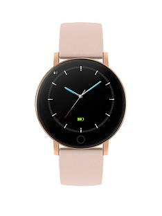 reflex-active-series-5-smartwatch-with-heart-rate-monitor-colour-touch-screen-and-nude-pink-silicone-strap
