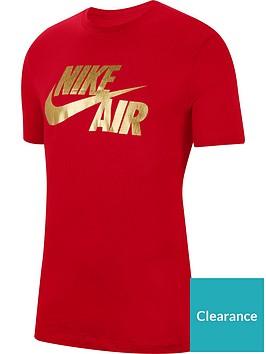 nike-preheat-air-tee-redgold