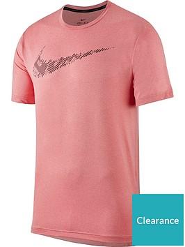 nike-dry-short-sleeve-top-pink