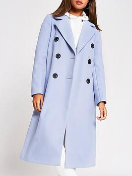 river-island-river-island-double-breasted-smart-coat-blue