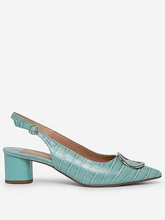 dorothy-perkins-wide-fit-emily-sling-metal-shoe-green