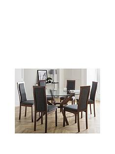 julian-bowen-set-of-chelsea-large-table-6-melrose-chairs