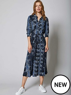 mint-velvet-venus-animal-print-belted-midi-shirt-dress-blue