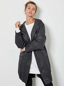 mint-velvet-metallic-stripe-back-lightweight-parka-jacket-charcoal
