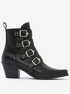mint-velvet-lou-leather-buckle-cowboy-boots-black
