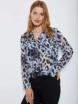 mint-velvet-audrey-animal-print-blouse-blue