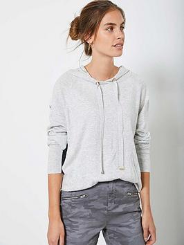 mint-velvet-batwing-blocked-hoodie-grey