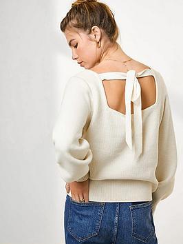 mint-velvet-bow-back-cotton-jumper-cream