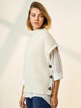 mint-velvet-easy-knitted-button-tabard-cream