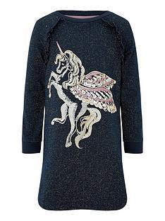 monsoon-girls-unicorn-sparkle-sweat-tunic-navy