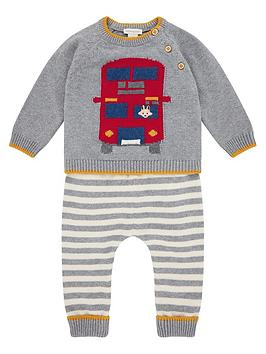 monsoon-baby-boys-bus-knitted-set-grey