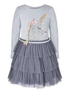 monsoon-girls-disco-sequin-unicorn-stripe-dress-grey