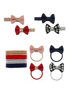 monsoon-girls-school-mini-bow-hair-set-multi