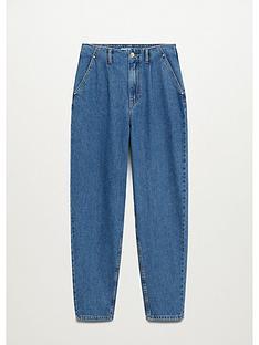 mango-slouch-jeans-blue