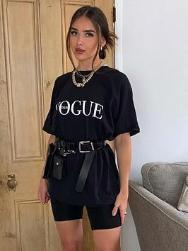 ax-paris-slogan-t-shirt-black