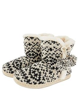 accessorize-fairisle-knitted-boots-mono