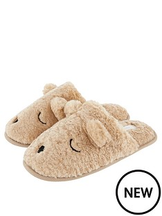 accessorize-teddy-mule-slippers-tan