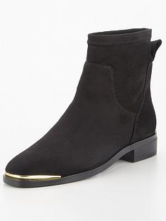 v-by-very-freya-stud-back-flat-sock-boot-black