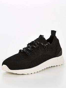 v-by-very-avril-elastic-lace-knit-trainers-black