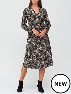 v-by-very-long-sleeve-tea-dress-floral