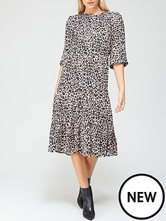 v-by-very-long-sleeve-tiered-midi-dress-animal