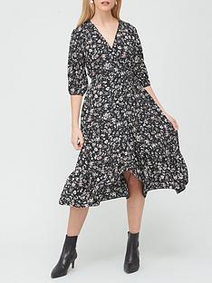 v-by-very-ditsynbspwrap-midi-dress-floral