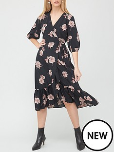 v-by-very-wrap-midi-dress-floral