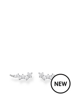 thomas-sabo-thomas-sabo-sterling-silver-and-cubic-zirconia-star-climber-earrings