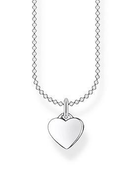 thomas-sabo-thomas-sabo-sterling-silver-heart-pendant-necklace