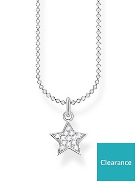thomas-sabo-thomas-sabo-sterling-silver-and-cubic-zirconia-star-pendant-necklace