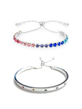 buckley-london-adjustable-rainbow-bangle-and-bracelet-duo-gift-set-free-gift-bag
